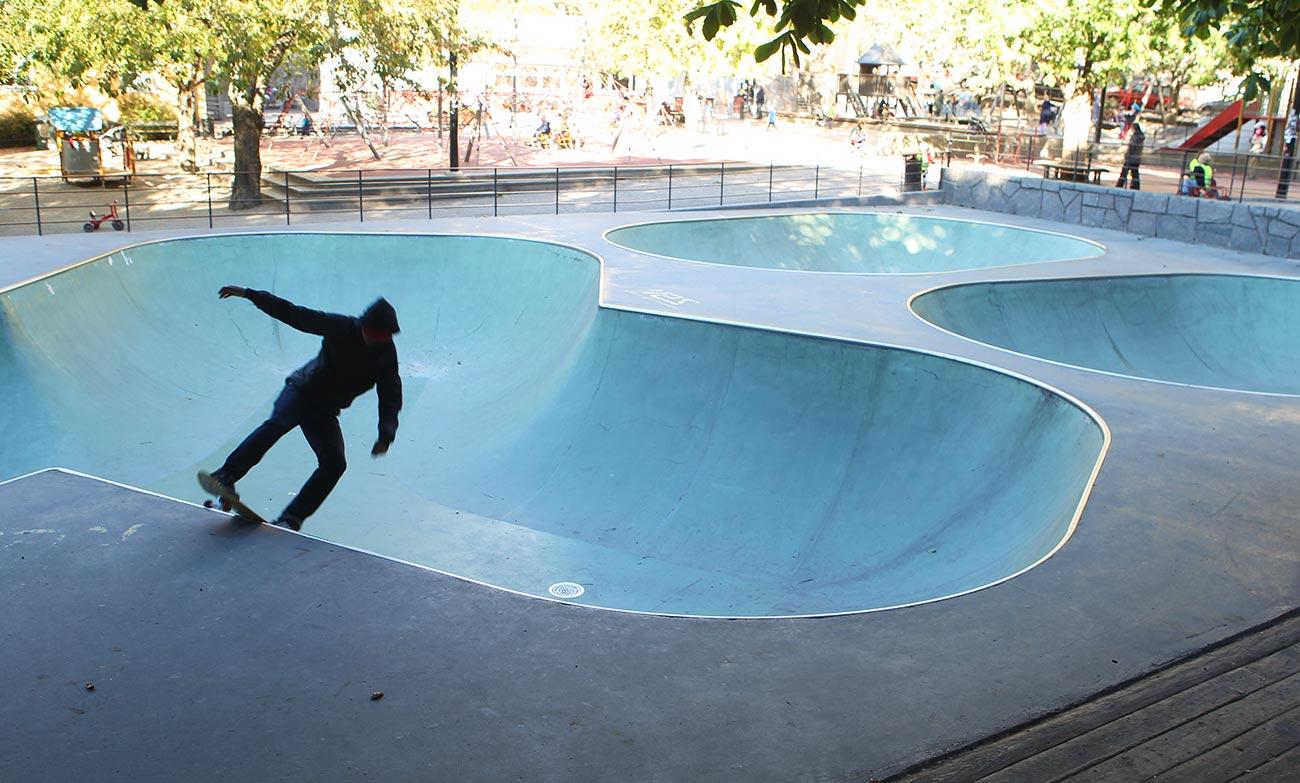 Skatepark i betong
