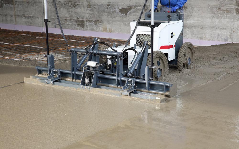Laserläggningsmaskiner Modern Betong