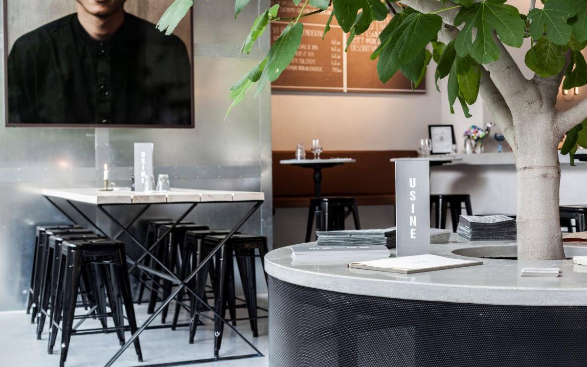 Usine restaurang Modern Betong